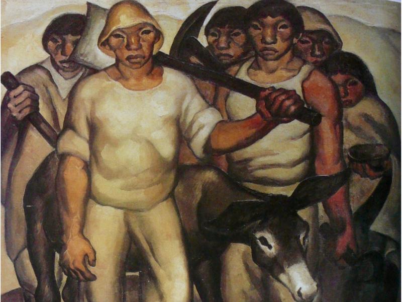 Los Trabajadores. Por Oswaldo Guayasamin