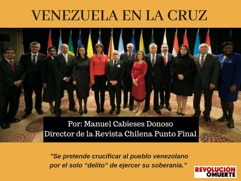 VENEZUELA EN LA CRUZ