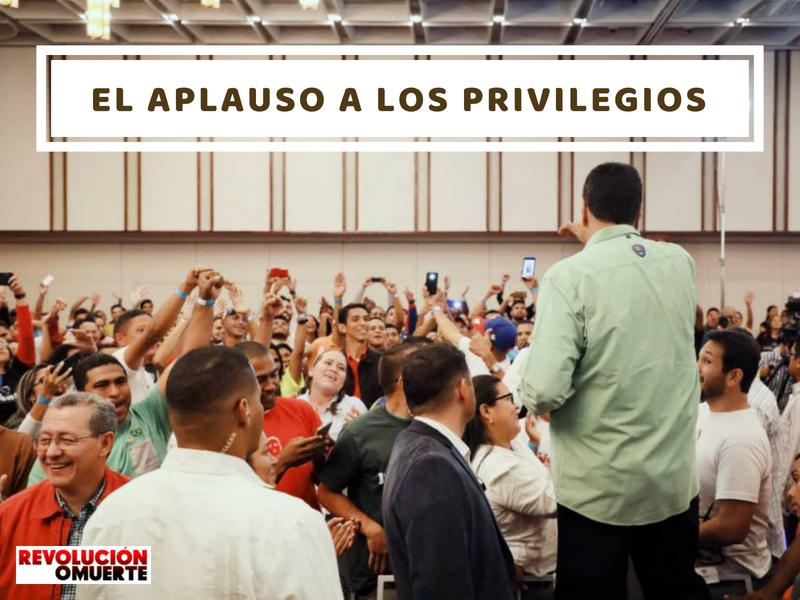 EL APLAUSO A LOS PRIVILEGIOS 4