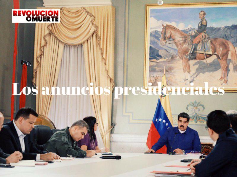 Los Anuncios Presidenciales 2