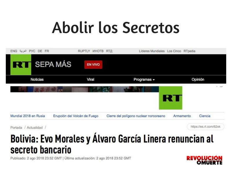 Abolir Los Secretos