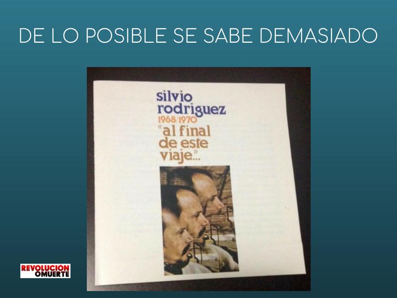 DE LO POSIBLE SE SABE DEMASIADO