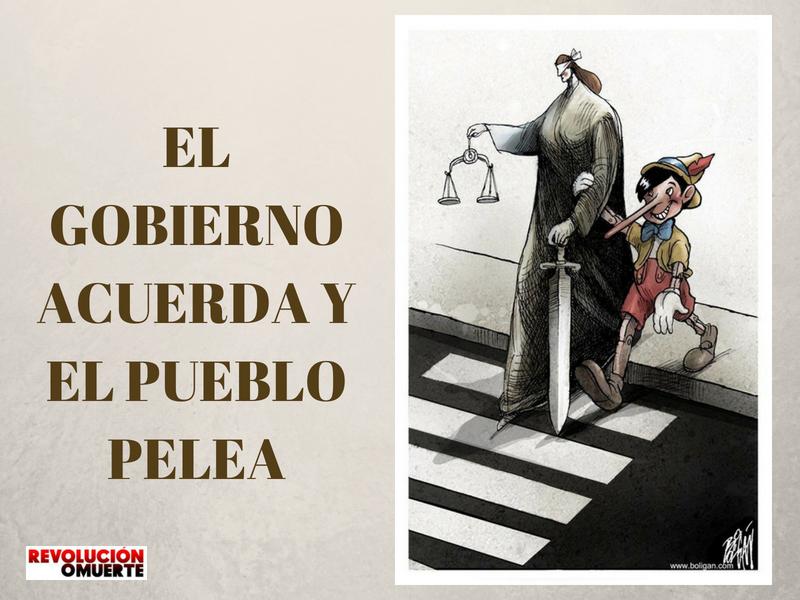 EL GOBIERNO ACUERDA Y EL PUEBLO PELEA 3