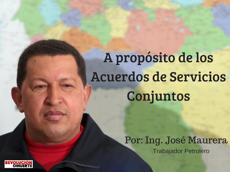 A PROPÓSITO DE LOS ACUERDOS DE SERVICIOS CONJUNTOS