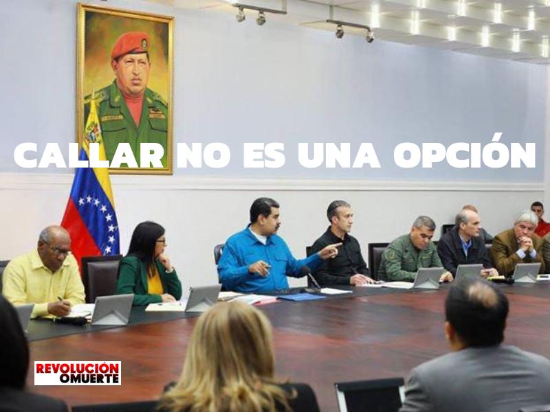 CALLAR NO ES UNA OPCIÓN
