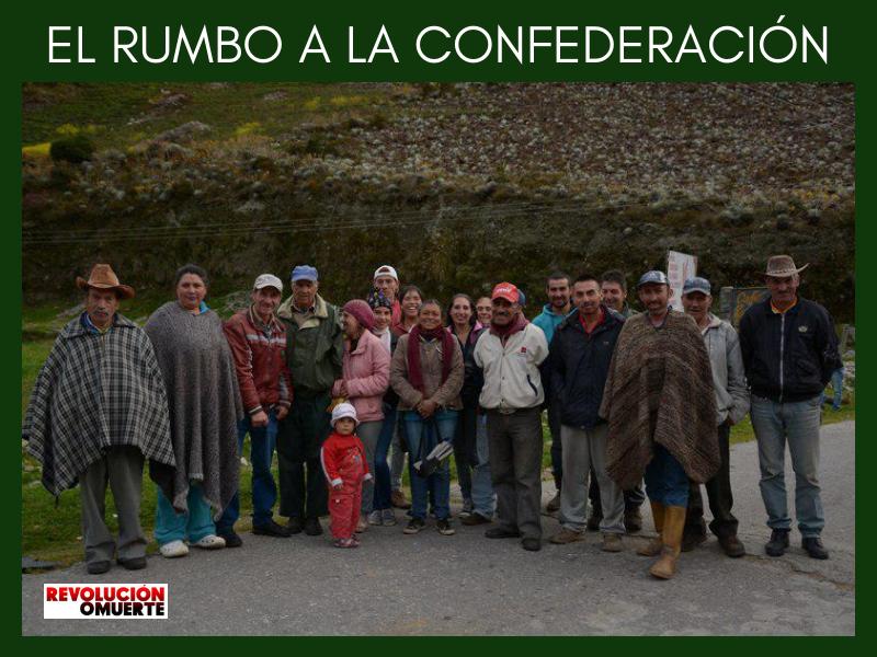 EL RUMBO A LA CONFEDERACIÓN