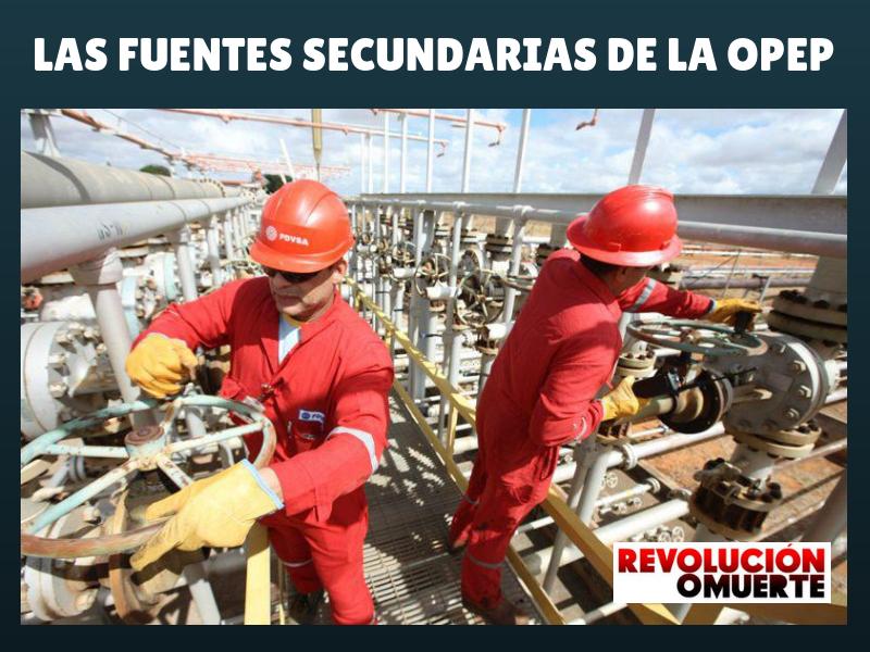LAS FUENTES SECUNDARIAS DE LA OPEP