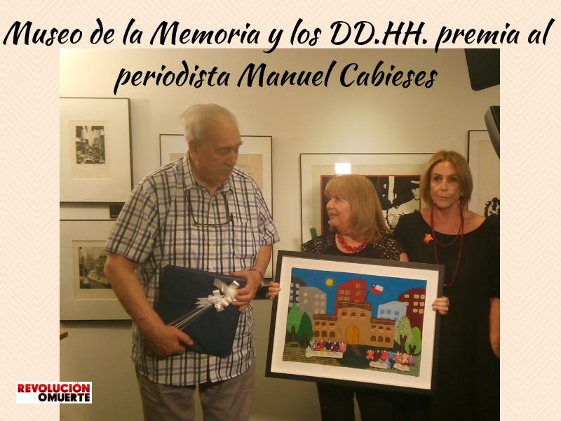 Museo De La Memoria Y Los DD.HH. Premia Al Periodista Manuel Cabieses 2