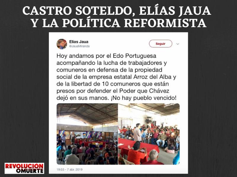 CASTRO SOTELDO, JAUA Y LA POLÍTICA REFORMISTA 2