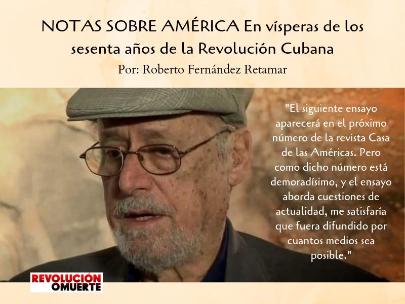 NOTAS SOBRE AMÉRICA En Vísperas De Los Sesenta Años De La Revolución Cubana 2