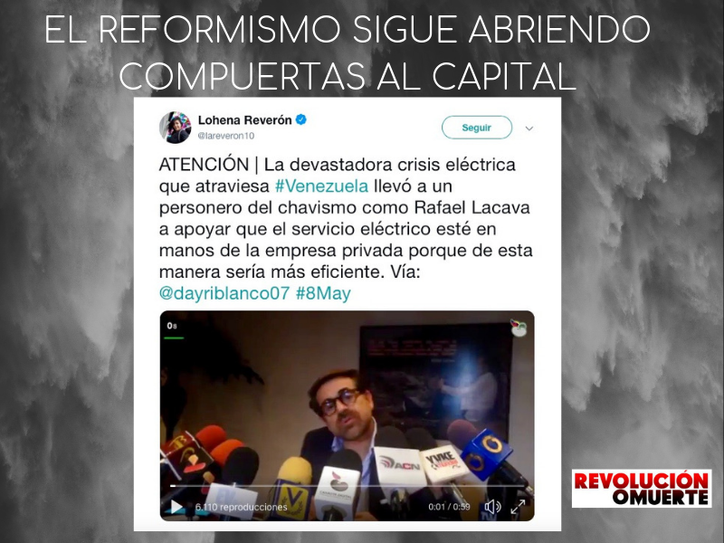 EDITORIAL: EL REFORMISMO SIGUE ABRIENDO COMPUERTAS AL CAPITAL
