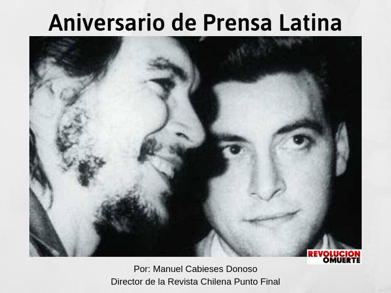 Aniversario De Prensa Latina