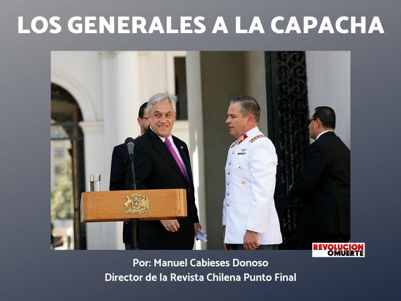 LOS GENERALES A LA CAPACHA