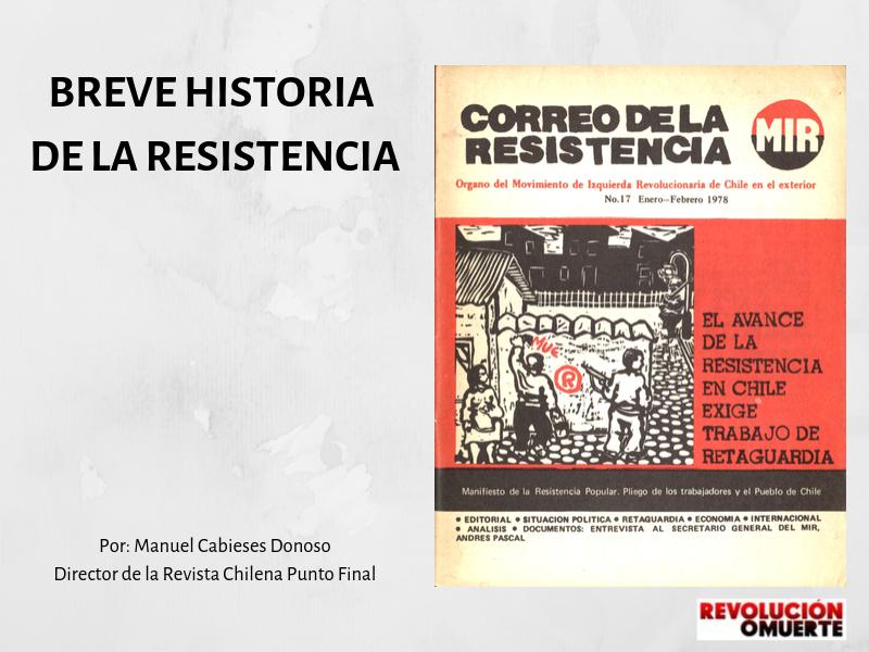 BREVE HISTORIA DE LA RESISTENCIA