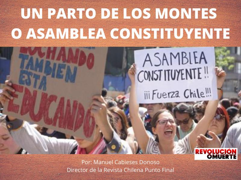 UN PARTO DE LOS MONTES O ASAMBLEA CONSTITUYENTE