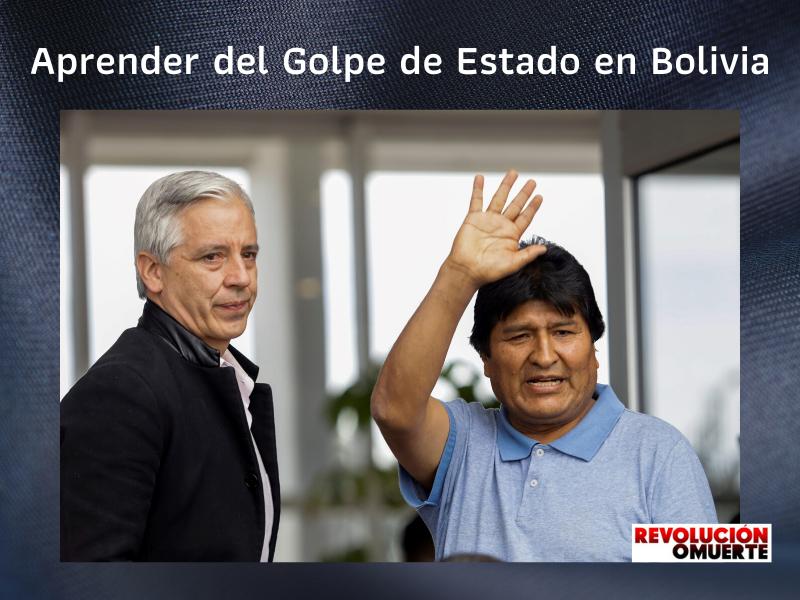 APRENDER DEL GOLPE DE ESTADO EN BOLIVIA