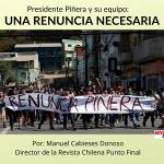 Presidente Piñera y su equipo_