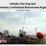 Cátedra Che Guevara Movimiento Continental Bolivariano Argentina