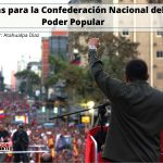 Ideas para la Confederación Nacional del Poder Popular