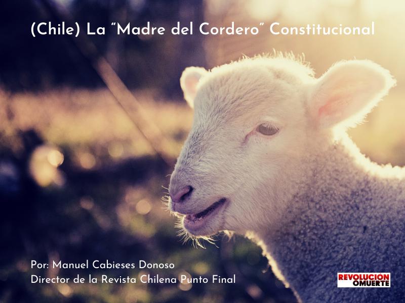 """(CHILE) LA """"MADRE DEL CORDERO"""" CONSTITUCIONAL"""